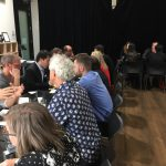 Business speed networking make new connections refer and grow as a business leader