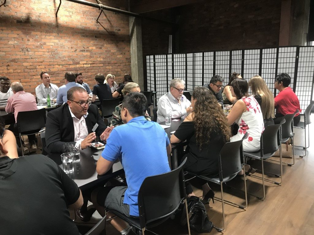 Photos from our Business Speed Networking Event held February 2019