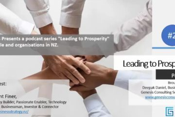 Genesis Consulting podcast covering Business Strategy NZ in 2019