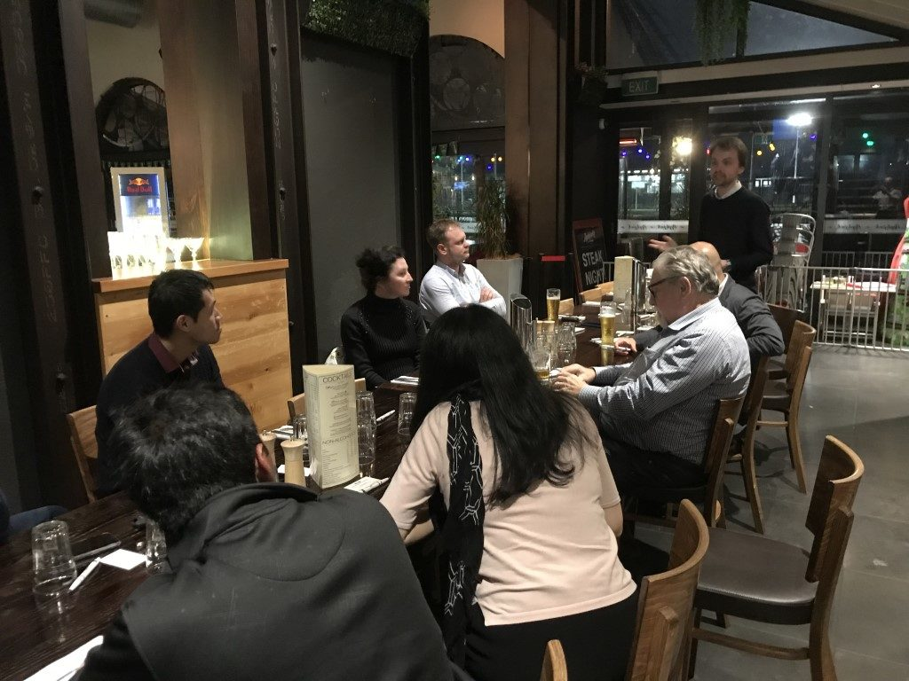 Business Networking in Pakuranga Auckland at AppleJacks featuring Tibor Mackor from BBS