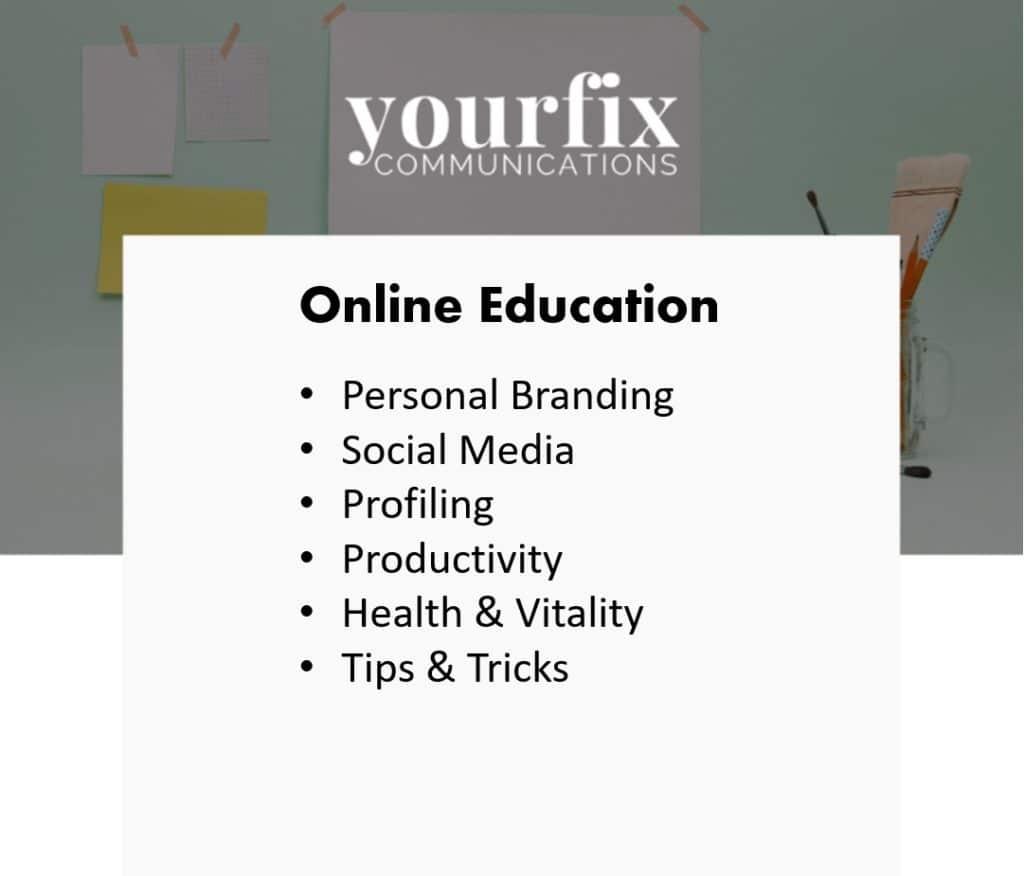 Yourfix Communications online training