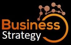 Business Strategy Networking logo - Black