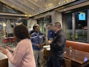 Photos from our #meetup at Applejacks, Pakuranga in July 2020 covering digital technology experiences during and after COVID lockdown.