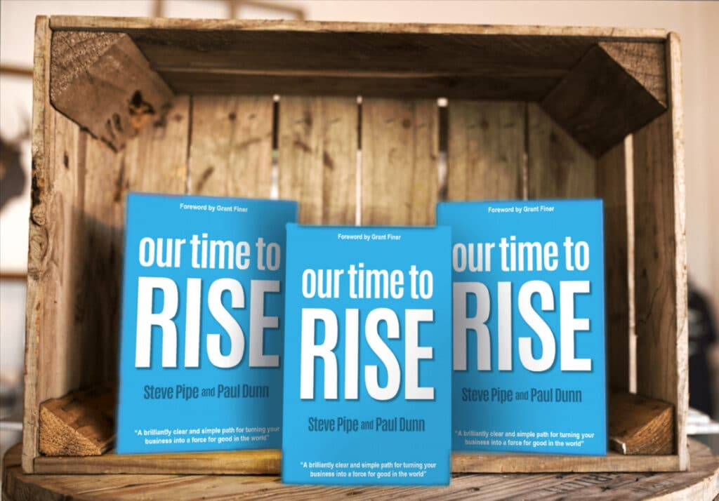 Our Time to Rise - Grant Finer Foreword