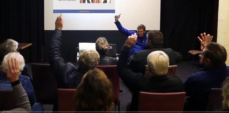 Wayne Forrest Raise your hands