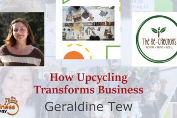 Geraldine Tew - re-creators circular economy talk