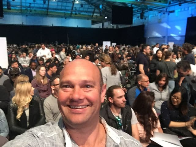 Grant Finer at UPW with Tony Robbins 2016