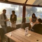 Action shots from Business Strategy Networking #meetup 5 October 2020 featuring Gill Bredl and Gaelene Adams Wood.