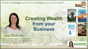 Lisa Dudson - Acumen - Financial Advisor | Author | Mentor | Speaker