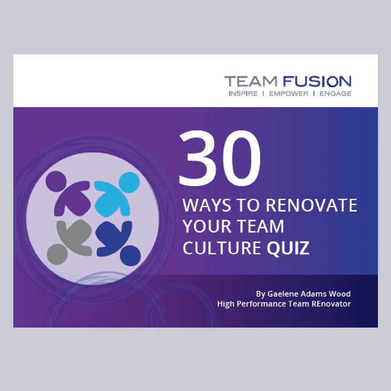 30 Ways to Renovate Your Team Culture