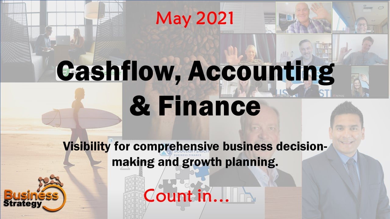 May Featured Topic: Finance, Cashflow and Accounting - Count In - CBD
