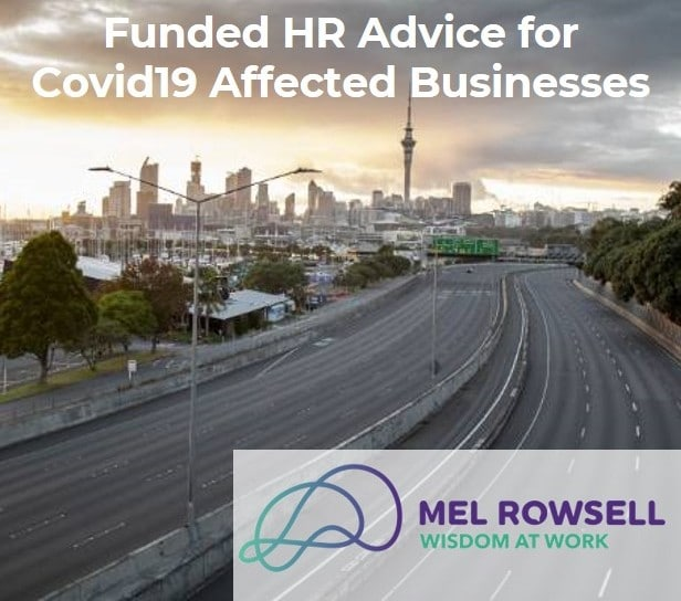 Funded HR advice for Covid19 affected businesses