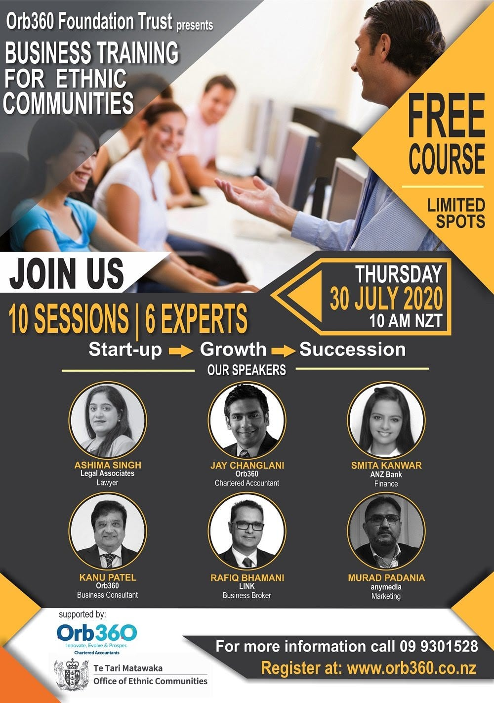 Free Business Training for Ethnic Communities